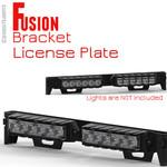 Feniex Fusion License Plate bracket