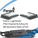 Feniex Mini permanent mount bracket set of 2