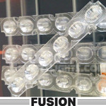 4 pack Feniex FUSION 40degree Interior Replacement  Lens