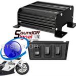 SoundOFF Police Motorcycle 200 Series Compact 100W Siren ETSA200R