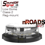nROADS LOW Dome Beacon Mag Mount Class 2