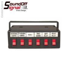 SoundOff Signal 600 Series 6 Function Switch