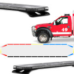 "Feniex FUSION 49"" Light Bar Blank rear"