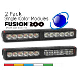 2 pack Feniex FUSION 200 Stick Single Color