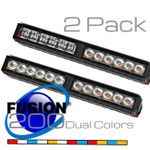 2 Pack Feniex Fusion 200 Dual Color