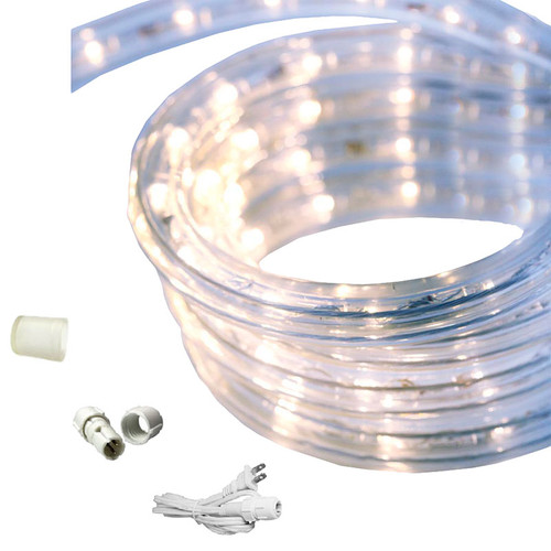 18 ft led rope light cool white 120 volt ez led 120 cw. Black Bedroom Furniture Sets. Home Design Ideas