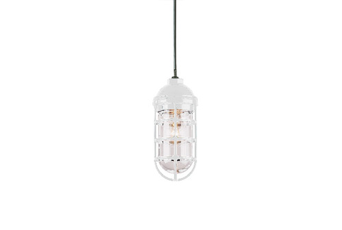 industrial pendant light for indoors or outdoors