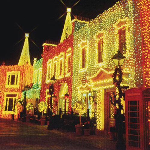 25' Faceted M6 Mini Multi Color LED Christmas Light String (25FT ...