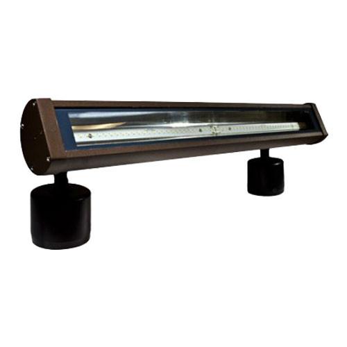 120v 18w led aluminum linear flood and sign light df led9400 by dabmar for Exterior linear led sign light