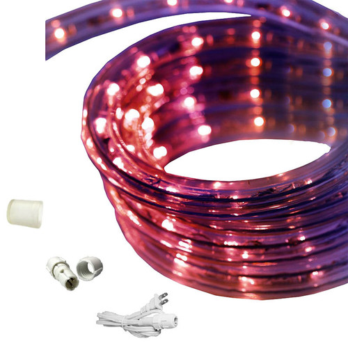 65 ft led rope light purple 120 volt ez led 120 ppl 65. Black Bedroom Furniture Sets. Home Design Ideas