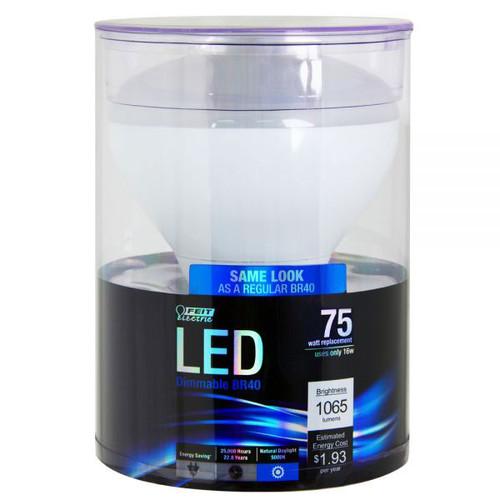 120v 16w Led Natural Daylight Br40 Reflector Light Bulb