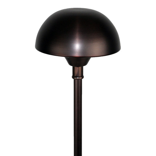 led cast brass dome top pathway area light 307 4set 307 by