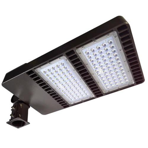 Best Outdoor Led Area Light: 120V 300w Dual Panel Post Top Area Flood Light (DF-LED7770