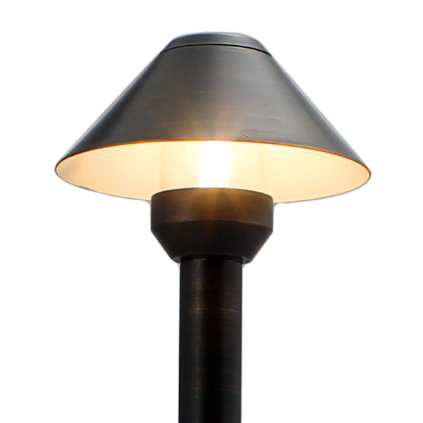 Best Outdoor Led Area Light: LED Flat Top Mini Cone Area Light (LED-PAMI-AQ114) By AQL