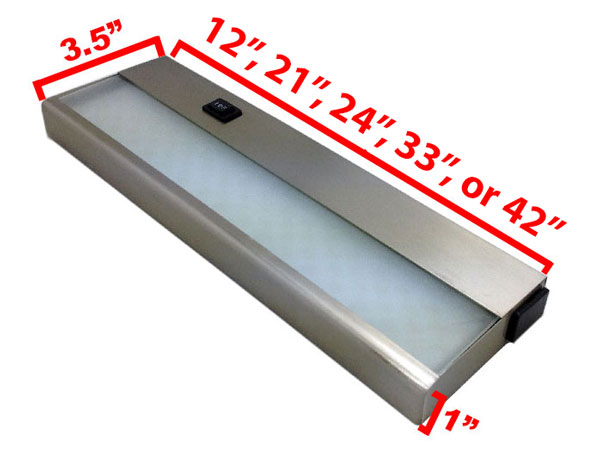 120v Led Under Cabinet Light Bar Cuc Hv By Aql