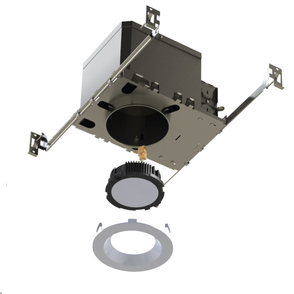 5 U0026quot  Ic Rated Airtight Led Recessed Housing