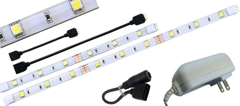 Custom Led Undercabinet Tape Light System