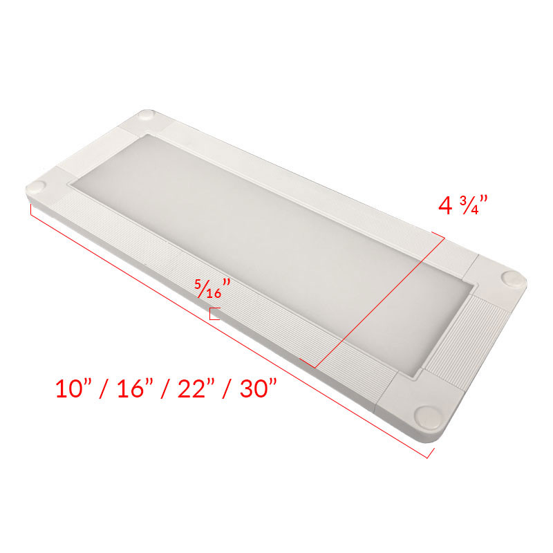 8w 12w 16w Led Kitchen Lighting Fixtures Ultra Thin Flush: Dimmable White LED Kitchen Light Fixture