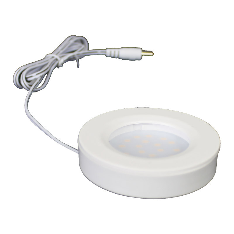 12V Warm White LED Kitchen Puck Light Kit