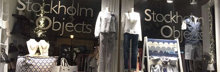 Stockholm Objects Window Display
