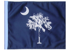 SOUTH CAROLINA 11in x15 Replacement Flag for Motorcycle, Golf Cart and Car flag poles