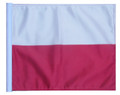 POLAND 11in x15 Replacement Flag for Motorcycle, Golf Cart and Car flag poles