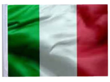 ITALY 11in x15 Replacement Flag for Motorcycle, Golf Cart and Car flag poles