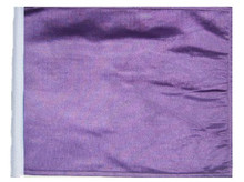 PURPLE 11in x15 Replacement Flag for Motorcycle, Golf Cart and Car flag poles