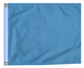 LIGHT BLUE / SKY BLUE 11in X 15in Flag with GROMMETS