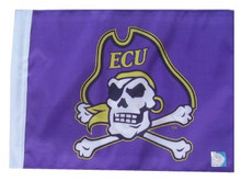 EAST CAROLINA ECU PIRATES Flag with 11in.x15in. Flag Variety