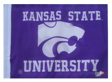 KANSAS STATE UNIVERSITY Flag with 11in.x15in. Flag Variety