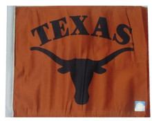 Texas Longhorns Flag with 11in.x15in. Flag Variety