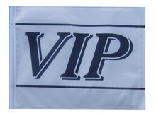 VIP SSP Motorcycle Flag with Sissybar or Trunk Style Pole