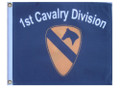 1st CAVALRY DIVISION 11in X 15in Flag with GROMMETS