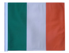 IRELAND 11in x15 Replacement Flag for Motorcycle, Golf Cart and Car flag poles
