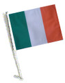 IRELAND Car Flag with Pole