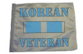 Korean Veteran Service Ribbon SSP Motorcycle Flag with Sissybar or Trunk Style Pole