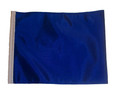 BLUE Motorcycle Flag with Sissybar or Trunk Style Pole
