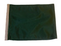 GREEN Motorcycle Flag with Sissybar or Trunk Style Pole