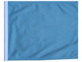 LIGHT BLUE / SKY BLUE Motorcycle Flag with Sissybar or Trunk Style Pole