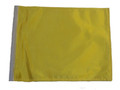 YELLOW SSP Motorcycle Flag with Sissybar or Trunk Style Pole