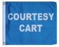 COURTESY CART 11in X 15in Flag with GROMMETS