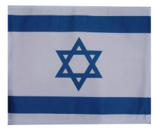 SSP Flags Israel Motorcycle Flag with Sissybar Pole or Trunk Pole