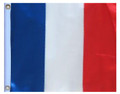 FRANCE 11in X 15in Flag with GROMMETS