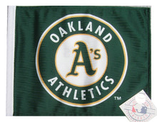 OAKLAND A's Flag - Approx. Size 11in.x15in.