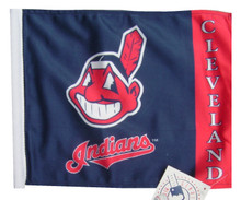 CLEVELAND INDIANS FLAG - APPROX. SIZE 11in.x15in.