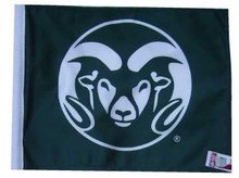 COLORADO STATE RAMS Flag - 11in.x15in.