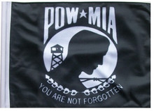 POW MIA Flag - Small 6in.x9in. Flag