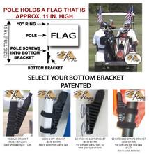 SSP Flags Golf Cart Brackets Options - SSPFlags.com