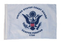 COAST GUARD 11in x15 Replacement Flag for Motorcycle, Golf Cart and Car flag poles